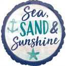Ballon en feuille standard pour mer, sable et sole