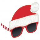 Spaßbrille Weihnachtsmann