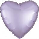 standard szatén Luxe pasztell-lila szívfólia léggö