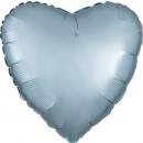 Standard szatén Luxe pasztell kék szív szatén