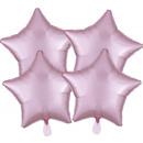 Multi-Pack szatén Luxe 4 csomag pasztell-rózsaszín