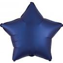 Standard szatén Luxe Navy Blue Star szatén v