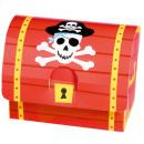 8 papír kincsesláda Pirates Treasure 8.2 x 10.7
