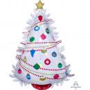 SuperShape Iridescent Christmas Tree Holographic F