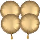 Multi-Pack szatén Luxus csomag 4 kerek arany fóliá