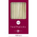 groothandel Huishouden & Keuken: 1000 tandenstokers 6,6 cm
