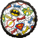 Standard Justice League foil balloon packed