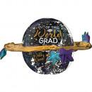 Ultrashape Out of This World Grad Folienballon ver