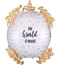 Ultrashape The World is Yours Folienballon verpack