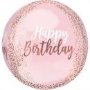 mayorista Regalos y papeleria: Paquete de globos de papel de cumpleaños Orbz Rose