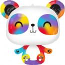 Supershape Panda Folienballon verpackt