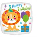 Standard Happy Löwe Geburtstag Folienballon verpac