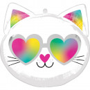 Standard Shape Cool Kitty Foil Balloon Packed 43