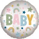 default satin Infused Natural Baby Foil Balloon v