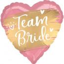 groothandel Stationery & Gifts: standaard satijn Gold Team Bride folieballonpak