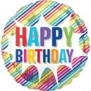 defecto Happy Birthday Globo de lámina de explosió