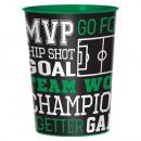Cup Goal Getter plastic 473 ml