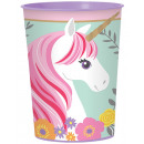 Mug Magical Unicorn 473 ml plastic