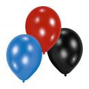 grossiste Cadeaux et papeterie: 10 ballons en latex Garçons 22,8 cm / 9 '