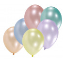 10 latex balloons mother of pearl 25,4 cm / 10