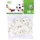 grossiste Cadeaux et papeterie: 8 ballons en latex impression ballon de football 2