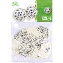 8 ballons en latex Motifs de football Imprimé mond
