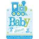 8 meghívó kártya Üdvözöljük Little One - Boy with