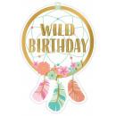 mayorista Tarjetas de felicitacion: 8 invitaciones tarjetas y sobres Boho cumpleaños n