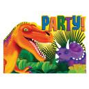 Großhandel Glückwunschkarten: 8 Einladungskarten Prehistoric Party mit Umschläge