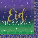 16 szalvéta Eid 25 x 25 cm