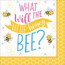 16 szalvéták Mi lesz a méhben? 25 cm