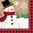 16 serviettes Winter Wonderland 33 x 33 cm