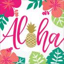 16 Servietten Aloha 33 x 33 cm
