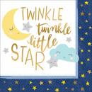 16 szalvéta Twinkle Little Star 33 cm