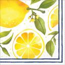 16 serviettes citrons