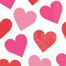 16 serwetek Klucz do Twojego serca 33 x 33 cm