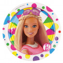 8 Tányér Barbie Sparkle 17.7 cm