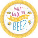 8 Tányér Mi lesz a méhében? 18 cm
