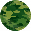 8 Tányér Camouflage 17.7 cm