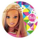 8 Tányér Barbie Sparkle 23 cm