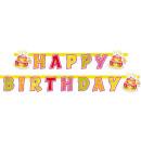 Łańcuch imprezowy Happy Birthday 180 x 15 cm