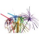 10 glitter drinking straws