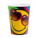 8 csésze Smiley Express Yourself 266 ml