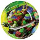 8 Tányér Teenage Mutant Ninja Turtles 23 cm
