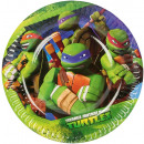 8 plate Teenage Mutant Ninja Turtles 18 cm