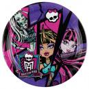 8 plato Monster High 2 23 cm