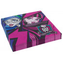 mayorista Articulos de fiesta: 20 servilletas Monster High 2 33 x 33 cm
