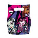 6 bolsas de fiesta Monster High 2
