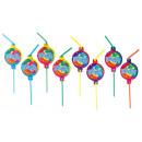 8 drinking straws balloon party 2