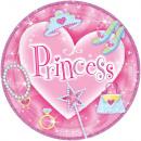 Großhandel Haushaltswaren:8 Teller Princess 23 cm